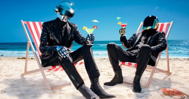 Daft Punk Reveals A Few Of Their New Gifts...That You Have To Pay For