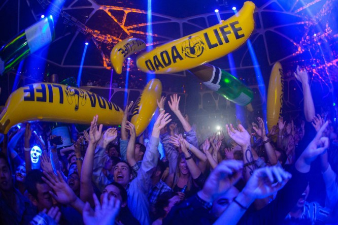 Dada Life Donates Bananas to Los Angeles Food Pantry, Attempts New Guinness World Record