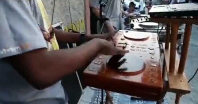 Haitian DJ Constructs Homemade DJ Controller From Wood And Wires [VIDEO]