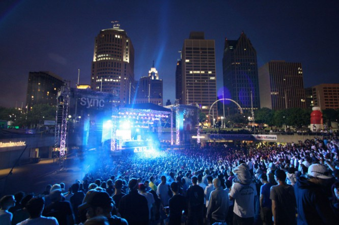 Watch This Detroit Cop Play Hype Man At Movement Festival [VIDEO]