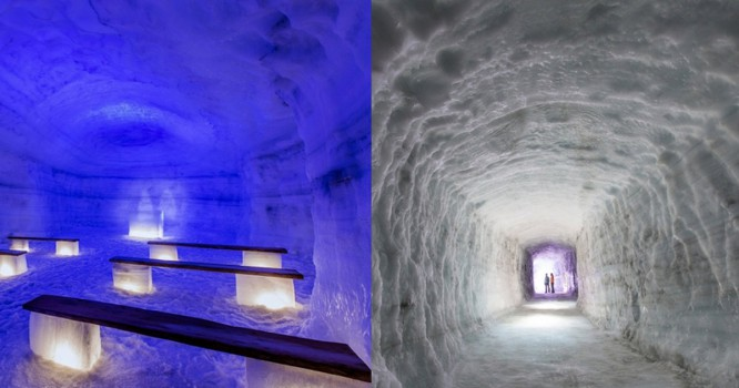 Check Out The World's First Glacier Rave