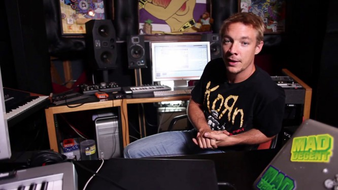 Diplo Doesn't Care If You Hate Him Or Steal His Music