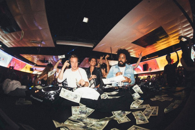Major Lazer Throws An Epic Roller Disco Album Release Party [VIDEO]