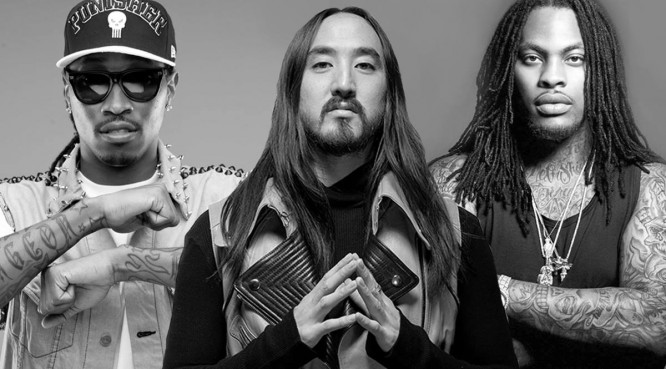 Steve Aoki Teams Up With Waka Flocka Flame & Future In 'Get High With Me'