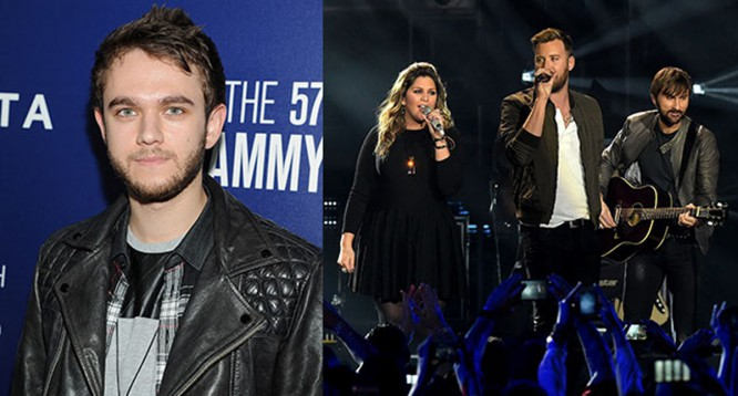 Watch Zedd Perform An EDM-Country Mashup With Lady Antebellum [VIDEO]