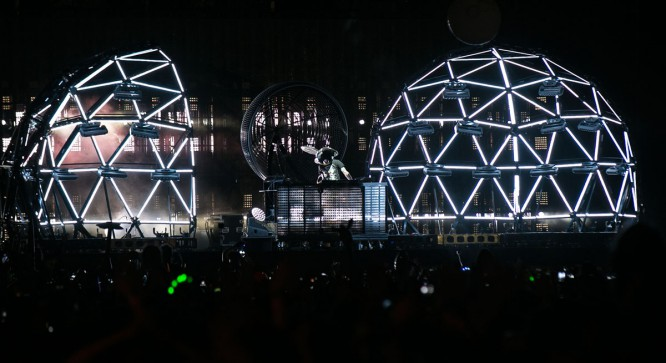 Watch Deadmau5's Performance At The 2015 Bonnaroo Music Festival [VIDEO]