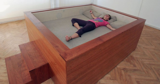 This Surround Sound Bed Is A Music Lover's Dream [VIDEO]