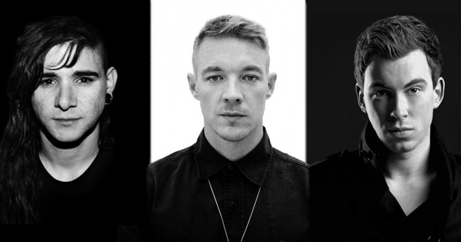 Watch Skrillex, Diplo And Hardwell Tag Team At Spring Awakening Music Festival [VIDEO]