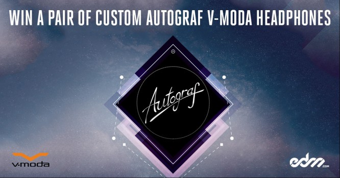 Win Your Own Limited Edition Autograf x V-Moda Headphones!