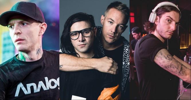 Deadmau5, Jack U & Alesso Top Major US Music Festival Lineup