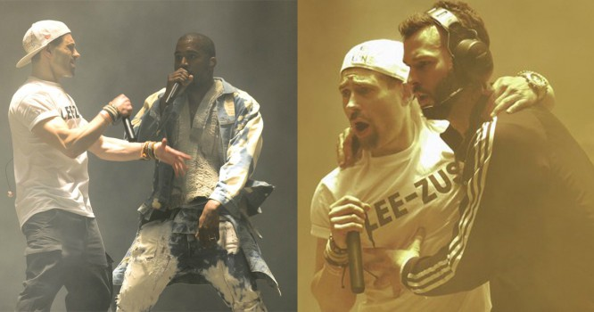 Watch Kanye Get Trolled During His Set At Glastonbury Music Festival [VIDEO]