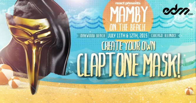 Create Your Own Claptone Mask For The Ultimate Mamby on the Beach Experience!
