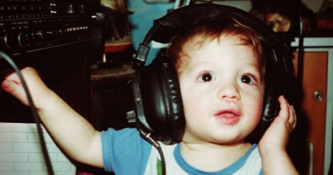 20 Of The Cutest DJ Baby Pictures Of All Time