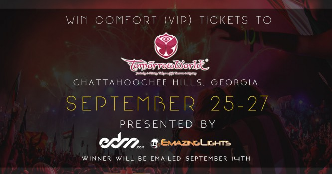 Win The Ultimate VIP Experience At TomorrowWorld 2015! [GIVEAWAY]