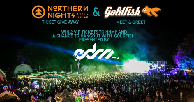 Hangout With Goldfish at Northern Nights Music Festival!