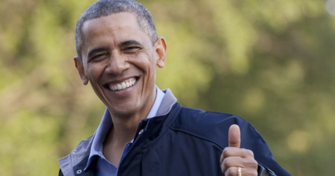 Watch Obama Show Love To House Music [VIDEO]