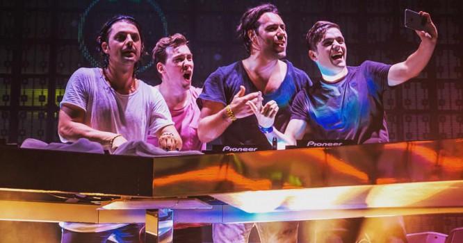 Martin Garrix, Hardwell & Axwell /\ Ingrosso Play Surprise Tag Team Set In Ibiza [VIDEO]