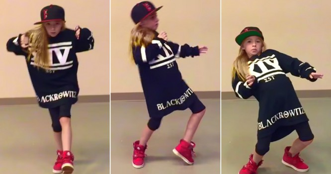 Watch This 10-Year-Old Girl's Mad Freestyle Dance Moves [VIDEO]