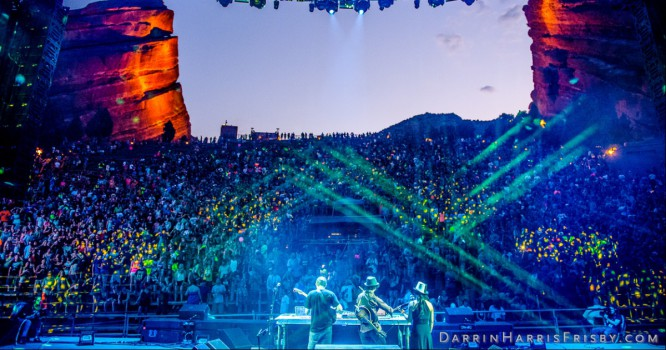 Above & Beyond, Kaskade & Tiesto To Headline 3-Day Festival At Red Rocks