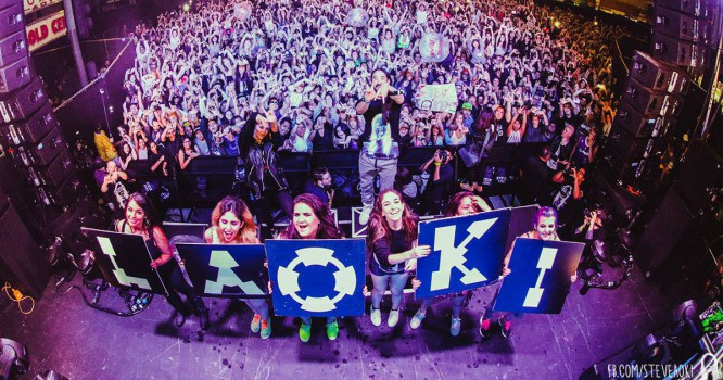 Watch Steve Aoki Take Over Downtown Los Angeles To Throw An Epic Party [VIDEO]