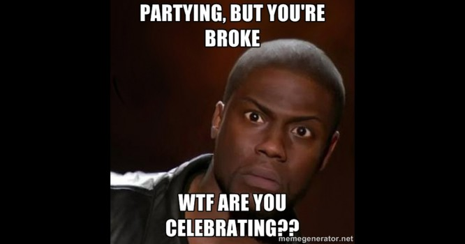 10 Things To Do When You're Too Broke To Party
