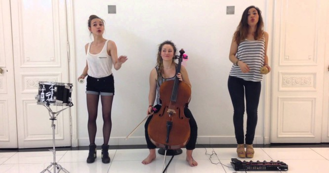 Watch These French Girls Cover 'Lean On' With A Cello & Drum [VIDEO]