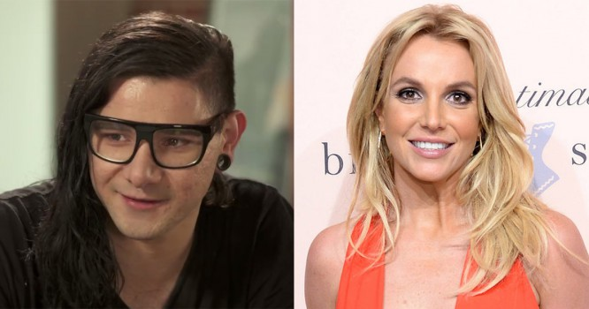 Skrillex Shows Up For Britney Spears In Awesome Way [VIDEO]