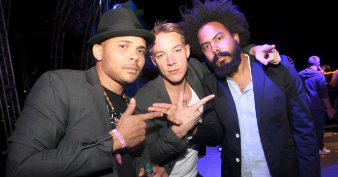Major Lazer's 'Lean On' Earns The Group A Certified Platinum Record