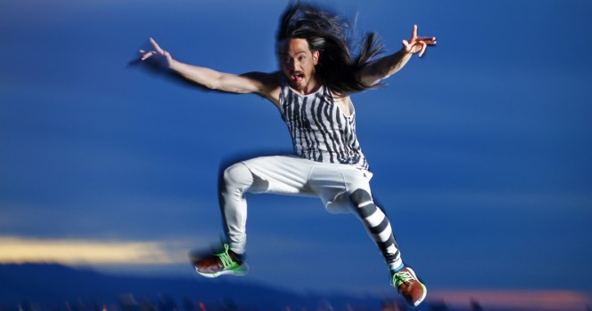 Steve Aoki Teams Up With New Video Game To Throw Free Show
