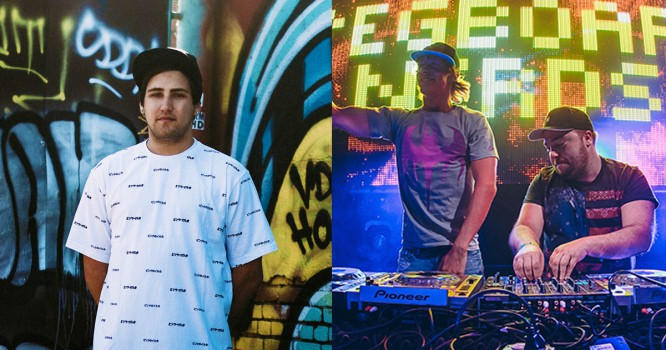 Jauz & Pegboard Nerds Release New Collab 'Get On Up'