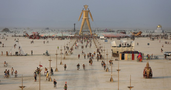 Sudden Death Strikes Burning Man Before It Even Begins