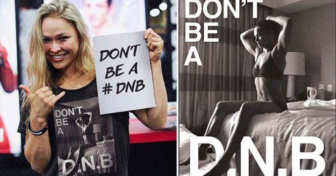 Champion Fighter Ronda Rousey Seeks To Trademark DNB Acronym