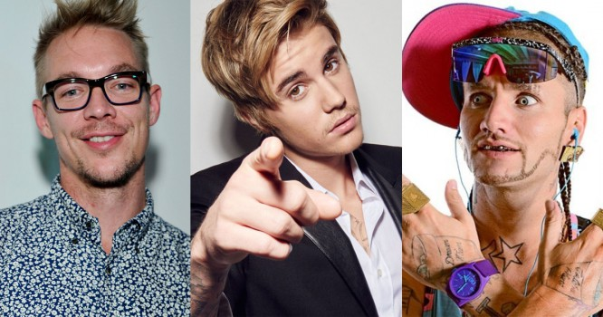 Diplo Teases New Collab With Riff Raff & Justin Bieber [VIDEO]
