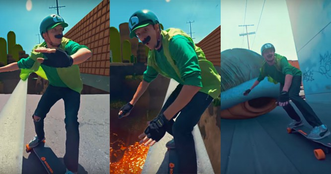 See Why This Mario Skate EDM Video Is Going Viral [WATCH]