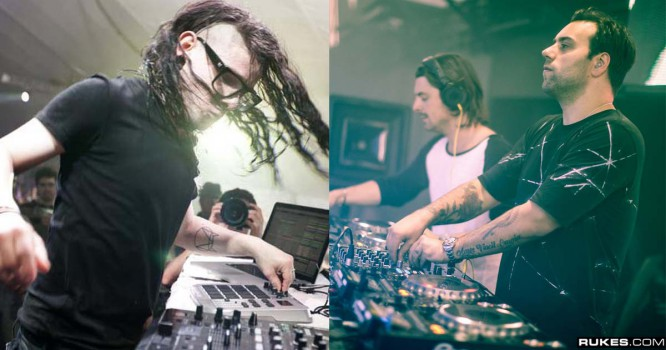 Skrillex & Axwell /\ Ingrosso Play Surprise B2B Afterparty [VIDEO]