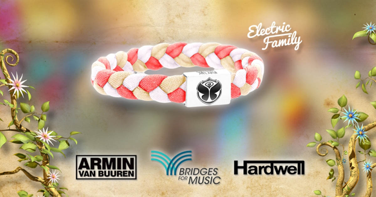 tomorrowworld launches electric family bracelet giveaway
