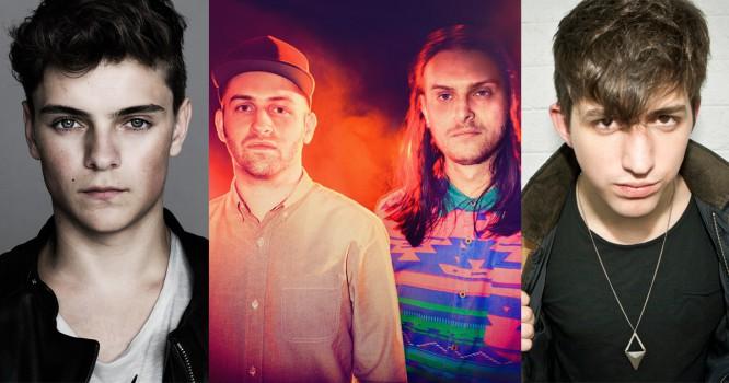 Martin Garrix, Porter Robinson & Zeds Dead Top Haunted Fest Lineups