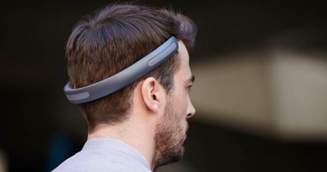 These Ear Free Headphones Conduct Sound Through Your Skull [VIDEO]