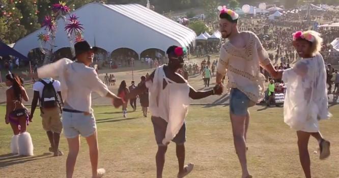 These Guys Dressed Up As Girls & Went To A Festival For Comedy's Sake [WATCH]