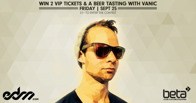 Enter to Win Tickets & Go Beer-Tasting with Vanic!