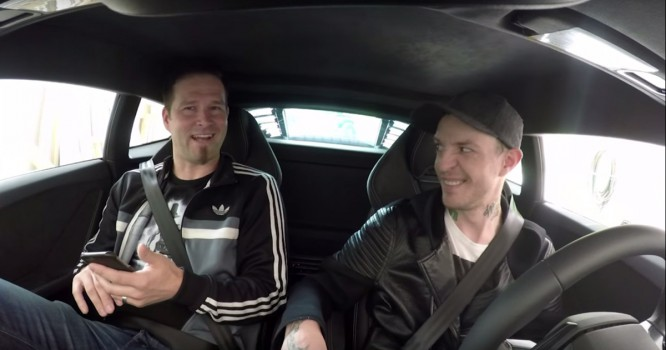 Watch Deadmau5 Take Darude On One Of His Famous Coffee Runs