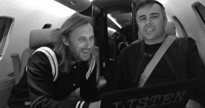 David Guetta Says Goodbye To Longtime Production Manager Alan Green