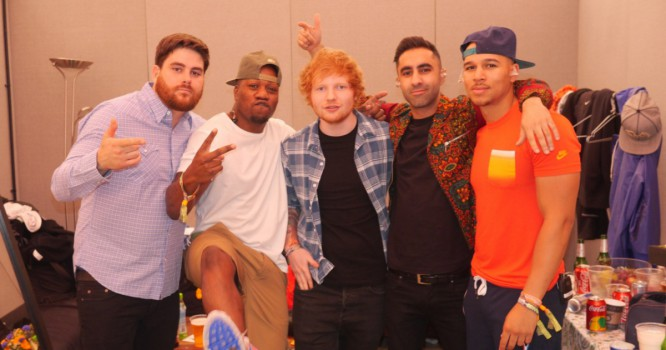 Rudimental And Ed Sheeran Team Up On New Tropical House Song