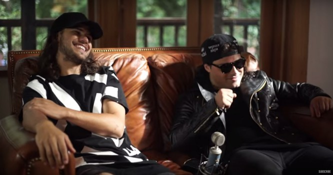 DVBBS Recounts The Time Their Tour Manager Hid Weed Up His Ass [VIDEO]