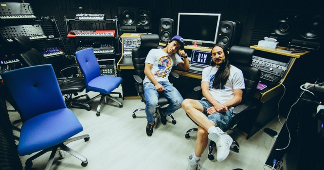 Steve Aoki Sits Down With Florian Picasso & Discusses New Track, Great-Grandfather's Work, And The Road Ahead