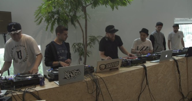These 40 DJ's Went B2B In Epic Scratch Circle