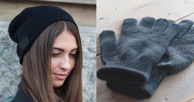 This Bluetooth Beanie & Touchscreen Gloves Combo Is Seriously Legit