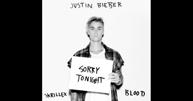 Justin Bieber Drops 'Sorry' With Skrillex & Blood Ahead Of Release [VIDEO]