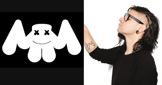 Skrillex Just Dropped A Flip Of Marshmello's 'Where Are U Now' Remix