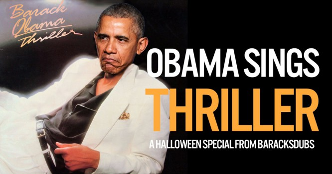 Barack Obama Gets A Thriller Mashup Just In Time For Halloween